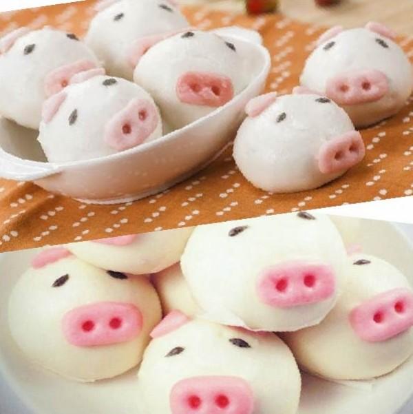 《御欣坊人氣美食》粉紅小豬甜甜包(香甜芋泥)(純素)(10粒/包)