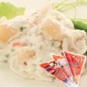 ❀花海鮮系列❀ 赤貝沙拉,解凍即可食用!進口日本新鮮赤貝,加上綠色蔬菜,增添了口感的層次!